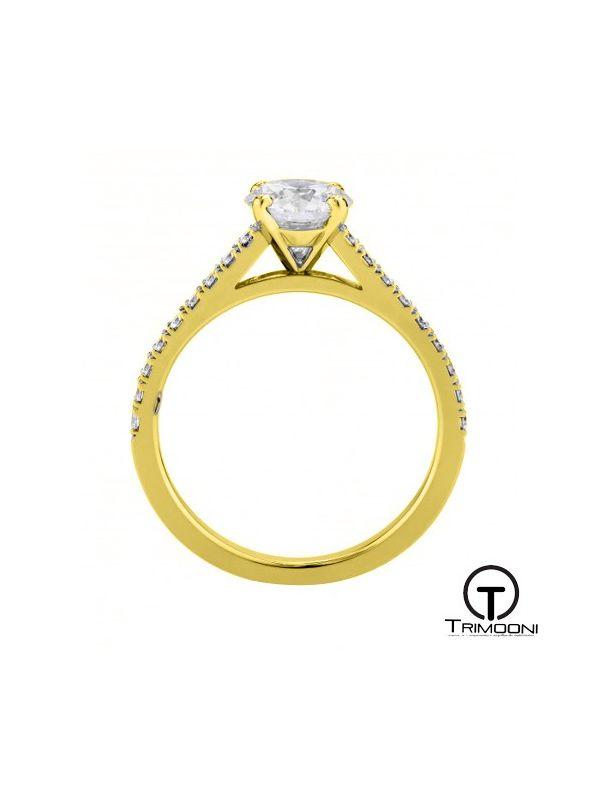 Acerto_ACOA || Anillo de Compromiso oro Amarillo Trimooni