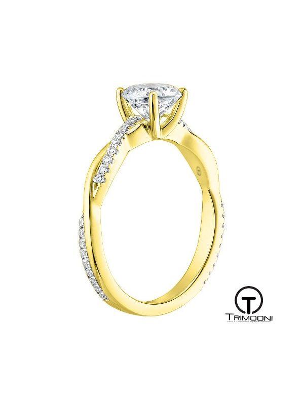 Amad_ACOA || Anillo de Compromiso oro Amarillo Trimooni