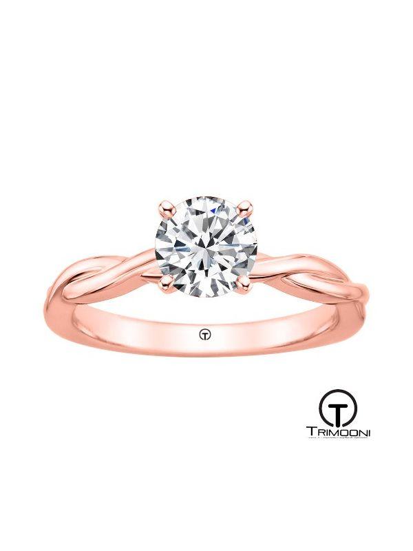 Amas_ACOR || Anillo de Compromiso oro rosado Trimooni