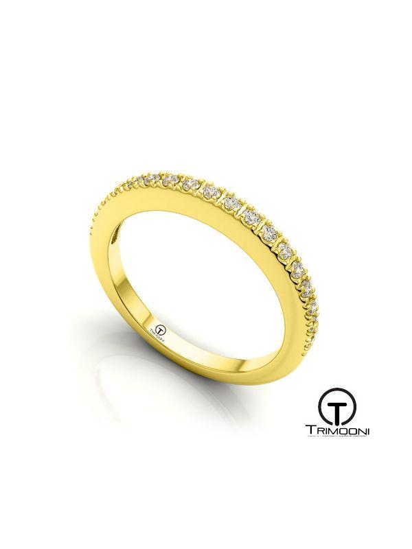 AMOA020M-  Argolla Matrimonio Oro Amarillo Trimooni