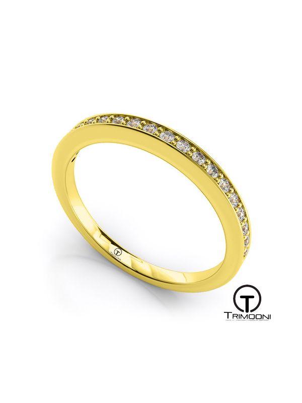 AMOA021M-  Argolla Matrimonio Oro Amarillo Trimooni