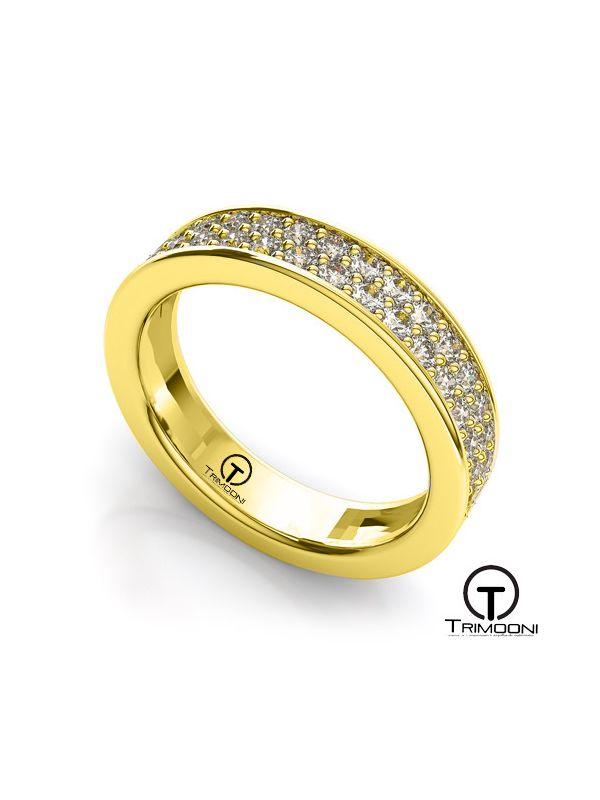 AMOA022M-  Argolla Matrimonio Oro Amarillo Trimooni