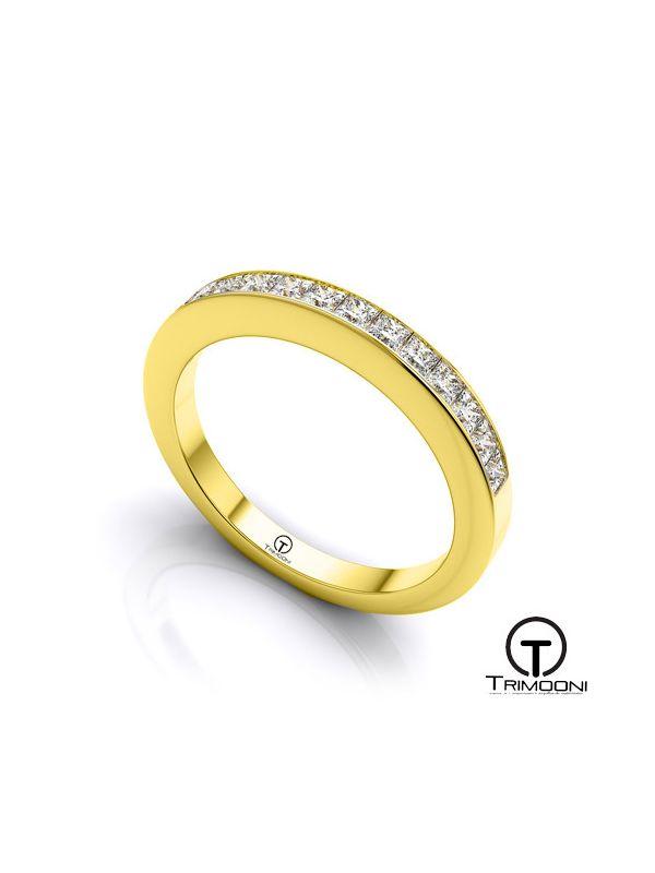 AMOA023M-  Argolla Matrimonio Oro Amarillo Trimooni