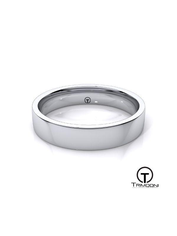 AMPT010H-  Argolla Matrimonio Platino Trimooni