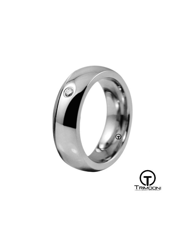 AMPT016M-  Argolla Matrimonio Platino Trimooni