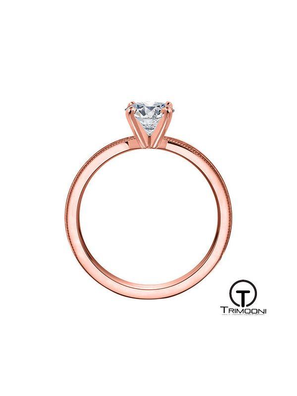 Batutto_ACOR || Anillo de Compromiso oro rosado Trimooni