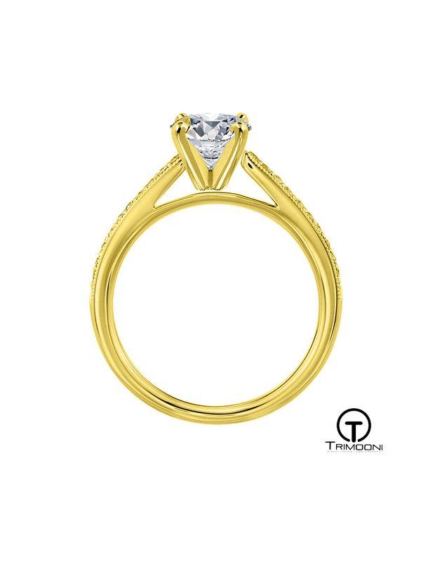 Belani ACOA || Anillo de Compromiso oro Amarillo Trimooni