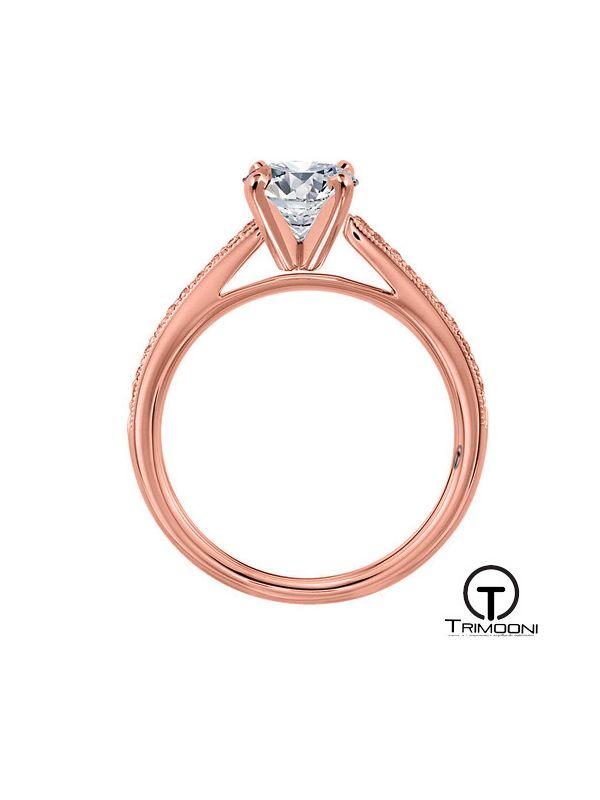 Belani ACOR || Anillo de Compromiso oro rosado Trimooni