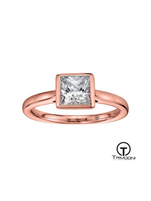 Biatro_ACOR || Anillo de Compromiso oro rosado Trimooni