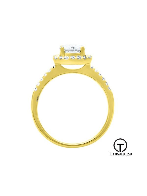 Capeti_ACOA || Anillo de Compromiso oro Amarillo Trimooni