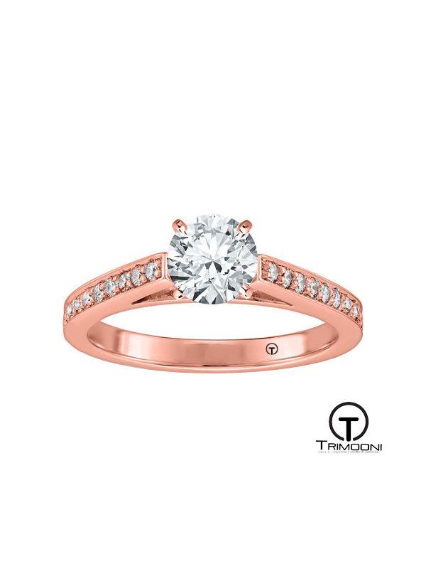 Cattedrale_ACOR || Anillo de Compromiso oro rosado Trimooni