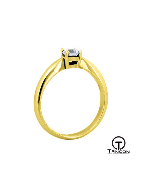 Chatux_ACOA || Anillo de Compromiso oro Amarillo Trimooni