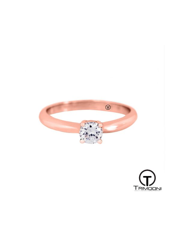Chatux_ACOR || Anillo de Compromiso oro rosado Trimooni