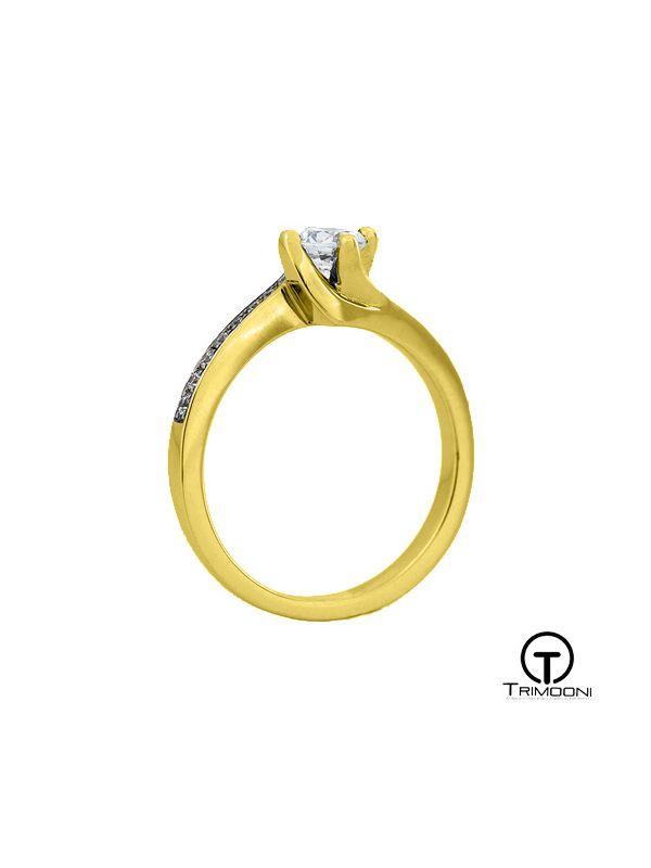 Cicero_ACOA    Anillo de Compromiso oro Amarillo Trimooni