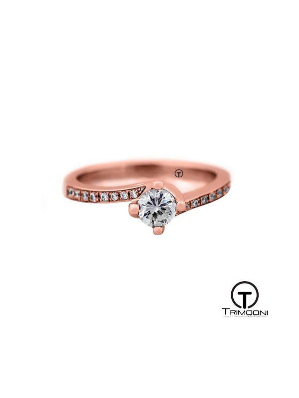 Cicero_ACOR || Anillo de Compromiso oro rosado Trimooni