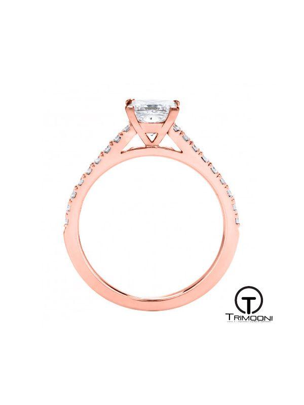 Coprid_ACOR || Anillo de Compromiso oro rosado Trimooni