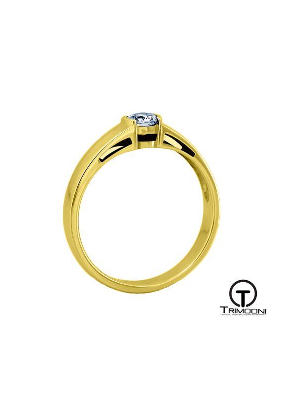 Danik_ACOA || Anillo de Compromiso oro Amarillo Trimooni