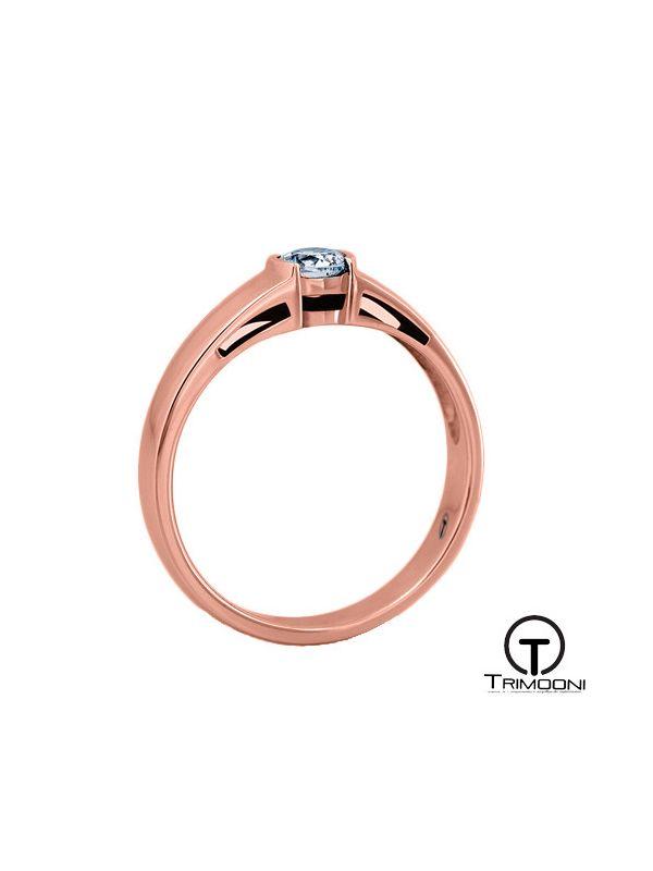 Danik_ACOR || Anillo de Compromiso oro rosado Trimooni