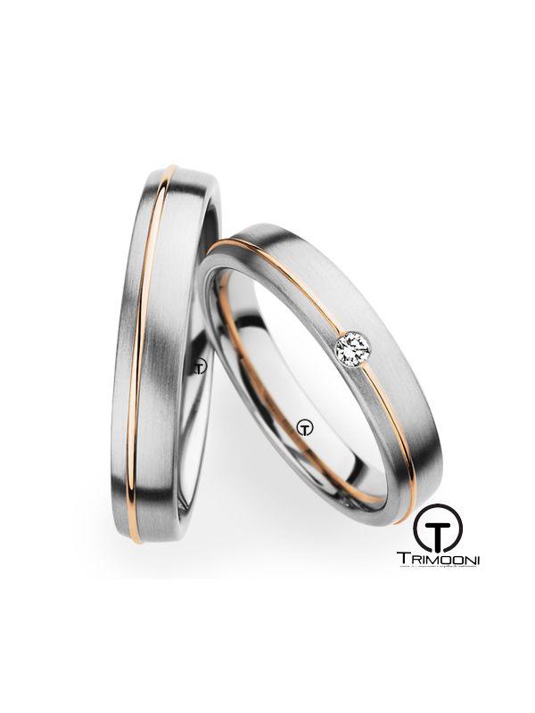 Diardi_SDO-  Set (pareja) de Argollas Matrimonio Dos Oros Trimooni 3,5mm >Más Info...