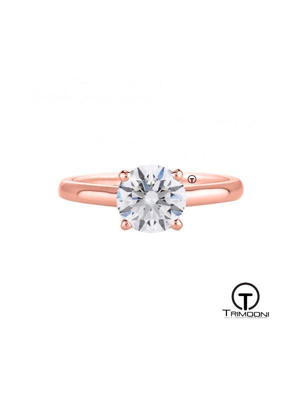 Diec17_ACOR || Anillo de Compromiso oro rosado Trimooni