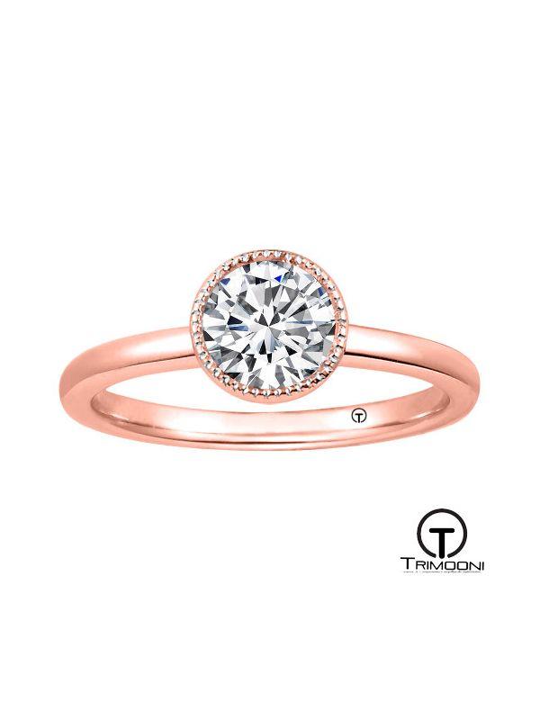 Ditali_ACOR || Anillo de Compromiso oro rosado Trimooni