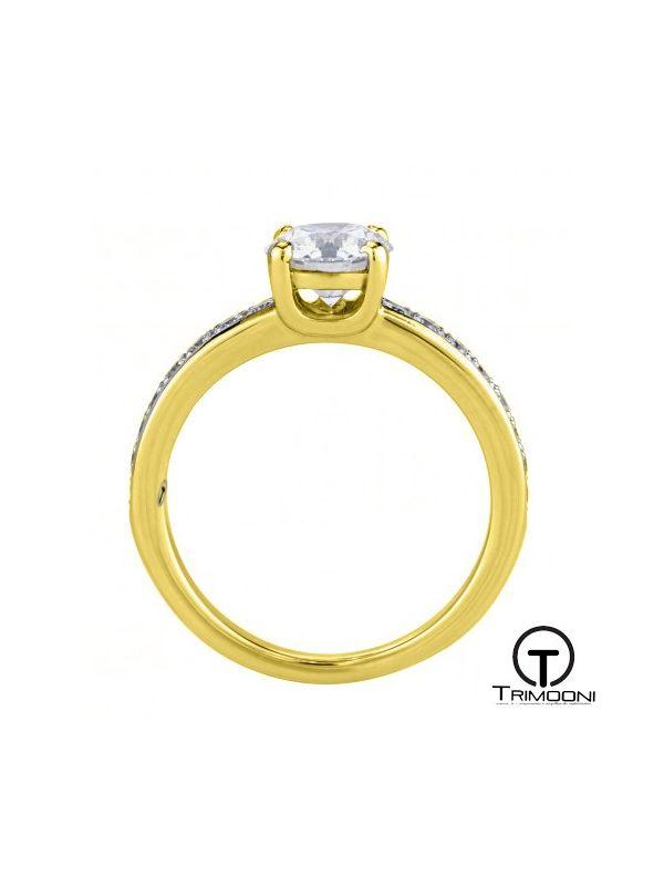 Diu_ACOA || Anillo de Compromiso oro Amarillo Trimooni
