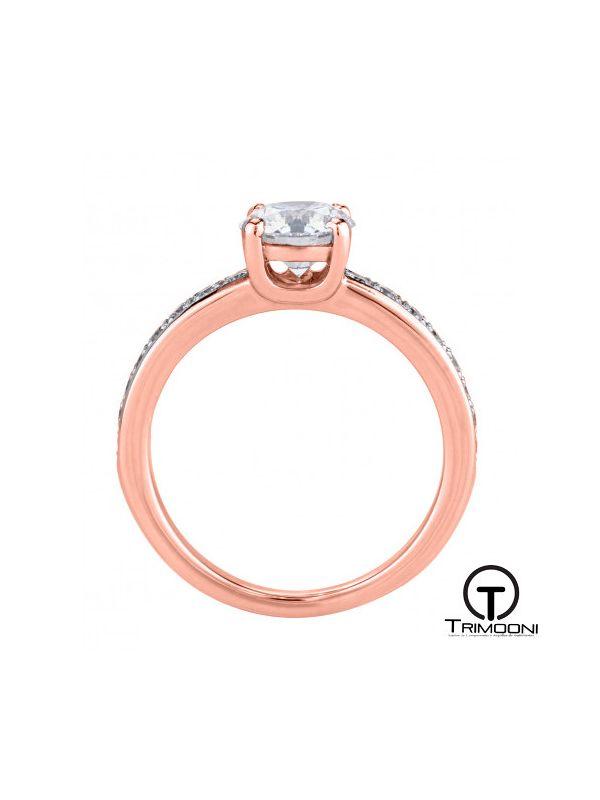 Diu_ACOR || Anillo de Compromiso oro rosado Trimooni