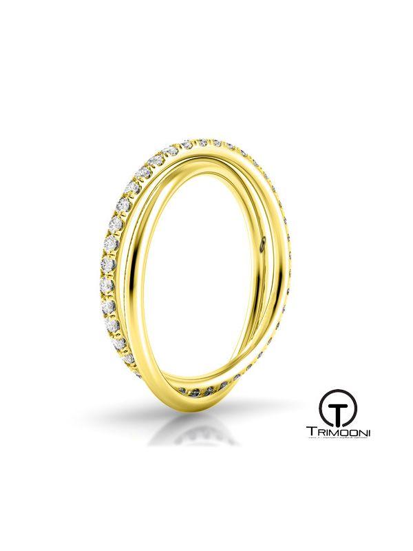 Due_OAM-  Argolla Matrimonio Oro Amarillo Trimooni
