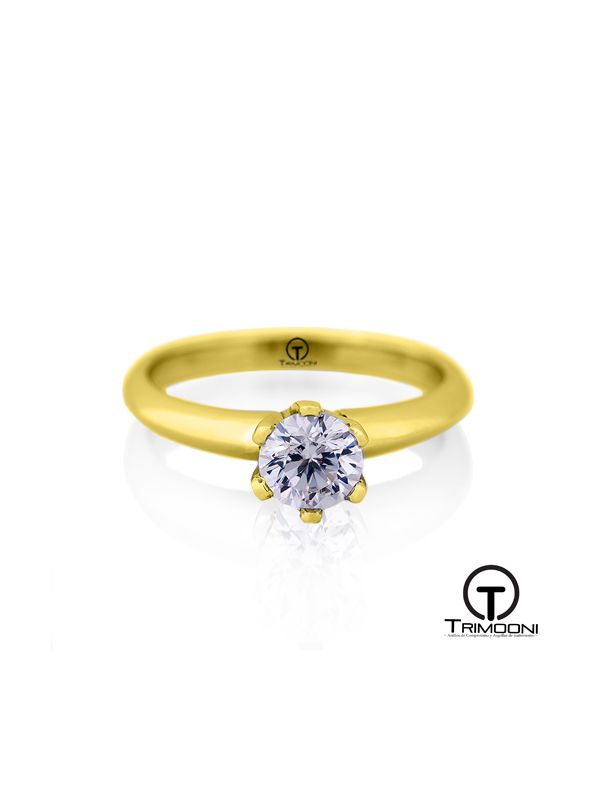 Espir_ACOA || Anillo de Compromiso oro Amarillo Trimooni