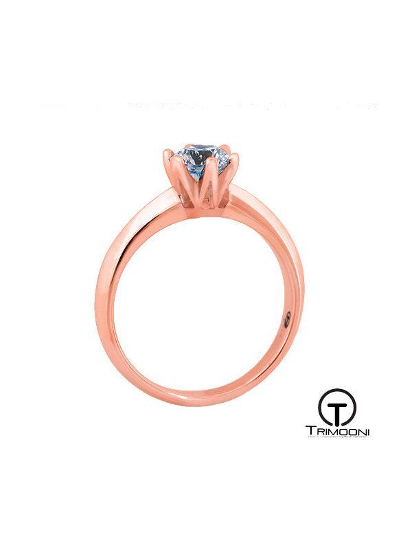 Espir_ACOR || Anillo de Compromiso oro rosado Trimooni