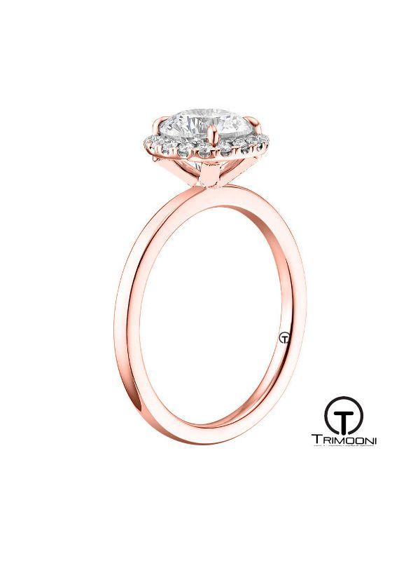 Flora_ACOR || Anillo de Compromiso oro rosado Trimooni