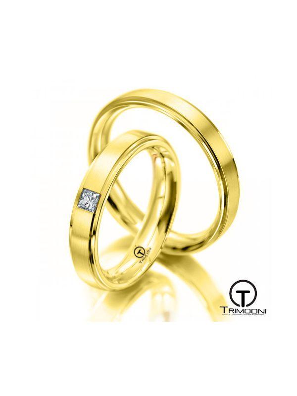 Gondola_OAS-  Set (pareja) de Argollas Matrimonio Oro Amarillo Trimooni