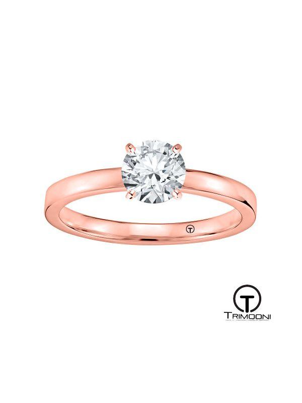Han_xs_ACOR || Anillo de Compromiso oro rosado Trimooni