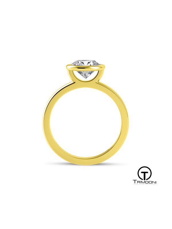 Luni_ACOA || Anillo de Compromiso oro Amarillo Trimooni