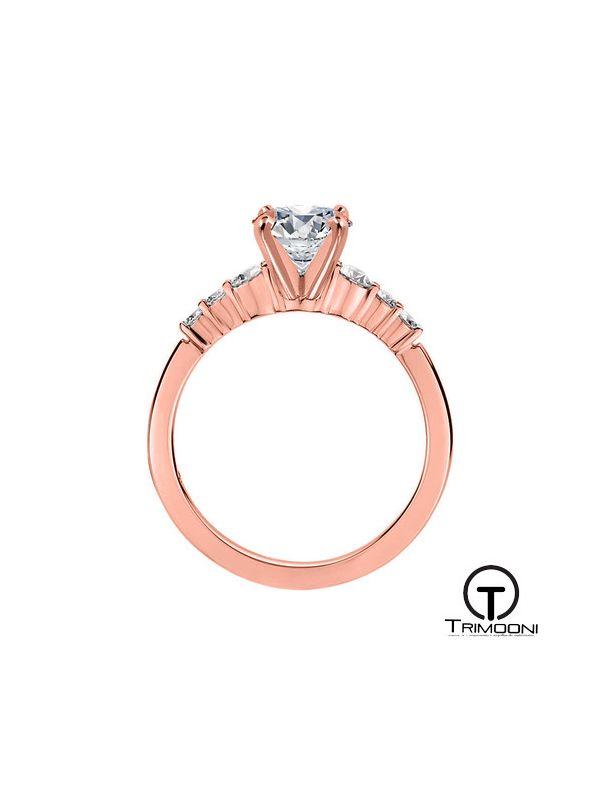 Macor_ACOR || Anillo de Compromiso oro rosado Trimooni