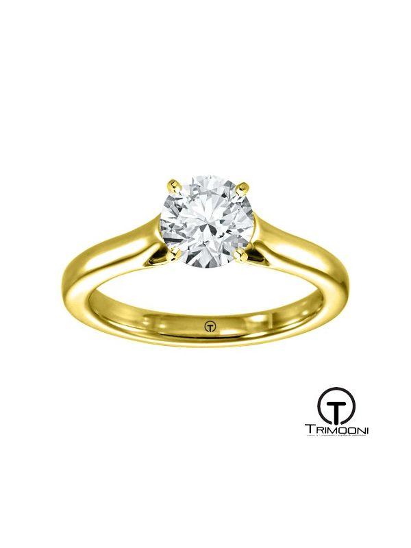 Mareti_ACOA || Anillo de Compromiso oro Amarillo Trimooni