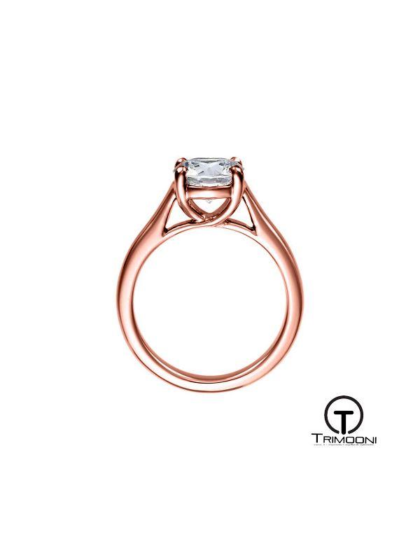Mareti_ACOR || Anillo de Compromiso oro rosado Trimooni
