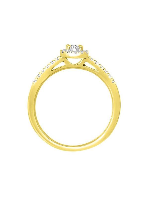 Minci_ACOA || Anillo de Compromiso oro Amarillo Trimooni