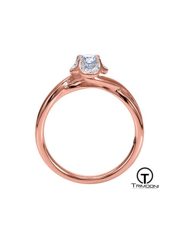 Mughetto_ACOR || Anillo de Compromiso oro rosado Trimooni