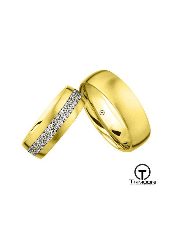 Opere_OAS-  Set (pareja) de Argollas Matrimonio Oro Amarillo Trimooni