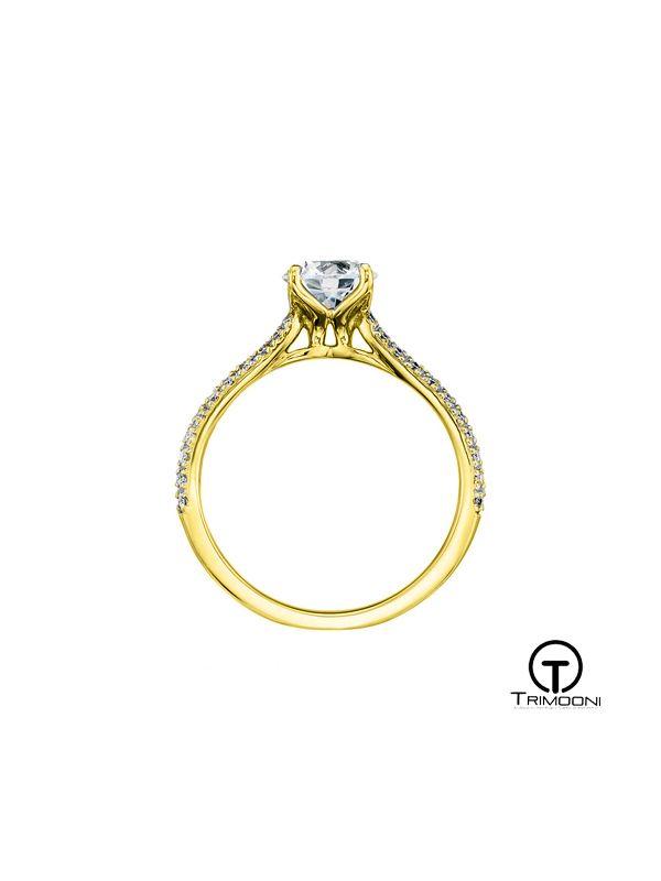 Percossi_ACOA || Anillo de Compromiso oro Amarillo Trimooni