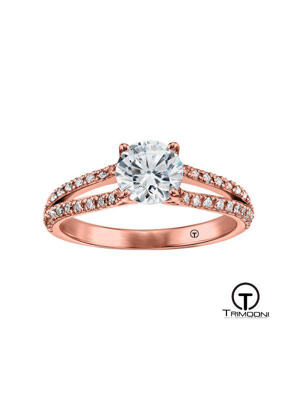 Percossi_ACOR || Anillo de Compromiso oro rosado Trimooni