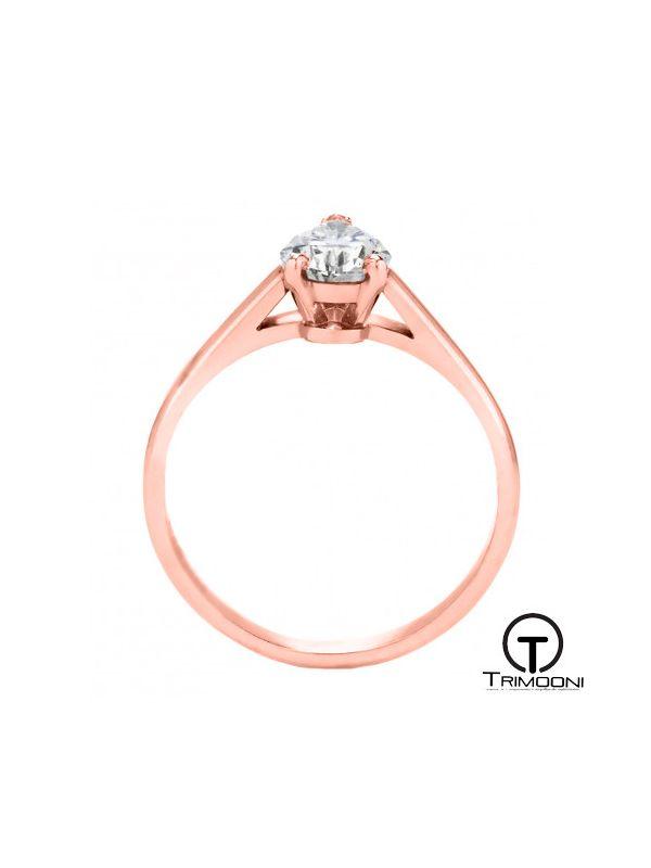 Peres_ACOR || Anillo de Compromiso oro rosado Trimooni