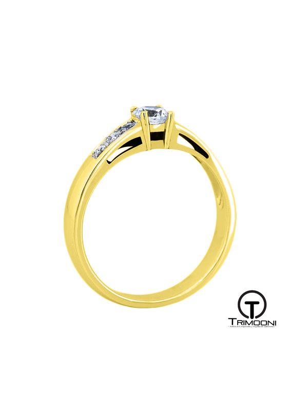 Tajh_ACOA || Anillo de Compromiso oro Amarillo Trimooni