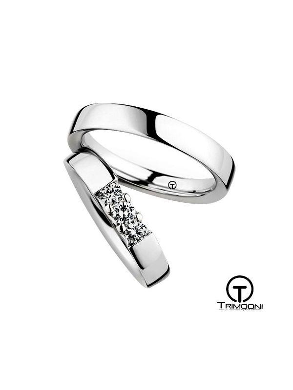 Tr3m_PTS-  Set (pareja) de Argollas Matrimonio Platino Trimooni