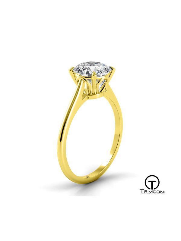 Trovare_ACOA || Anillo de Compromiso oro Amarillo Trimooni