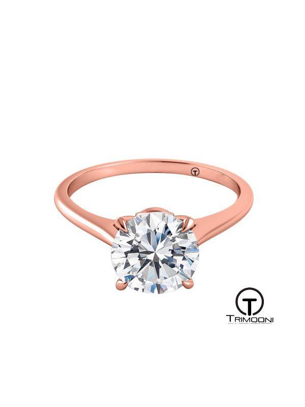 Trovare_ACOR || Anillo de Compromiso oro rosado Trimooni