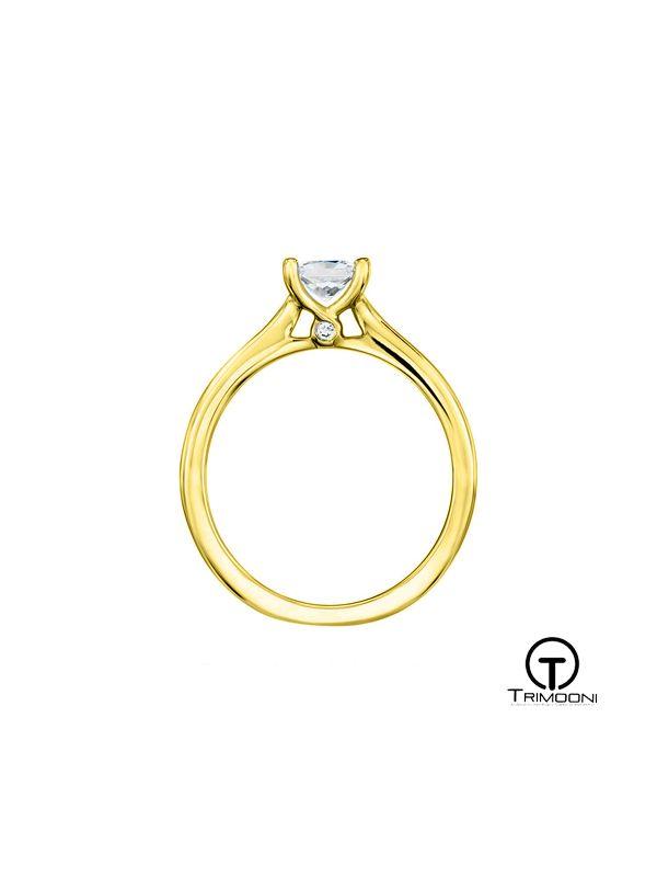 Versato_ACOA || Anillo de Compromiso oro Amarillo Trimooni