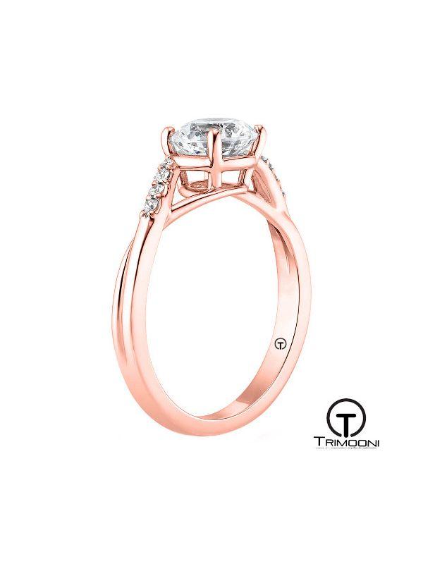 Vili_ACOR || Anillo de Compromiso oro rosado Trimooni