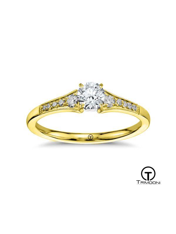 Xempre_ACOA || Anillo de Compromiso oro Amarillo Trimooni